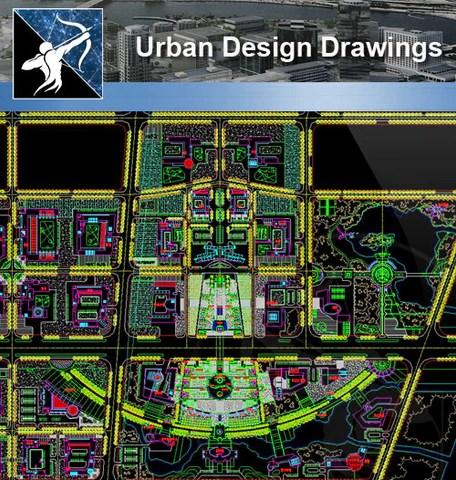 ★Urban Design CAD Drawings