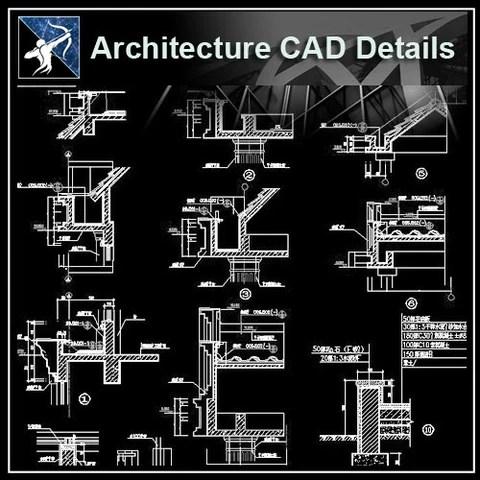 ★Free CAD Details