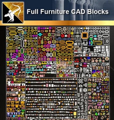 ★Full Interior Design Blocks