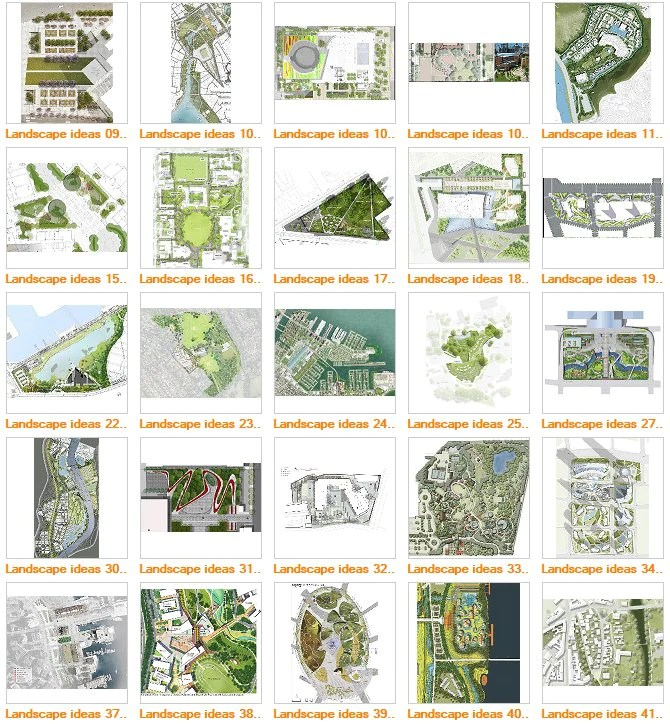 free landscape design templates
