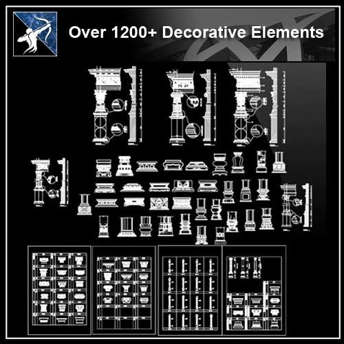 ★【Over 1200+ Corner Post,Plain Molding,Crown molding,Chair-rail,Door Trim,Skirting Board,Decorative Elements】