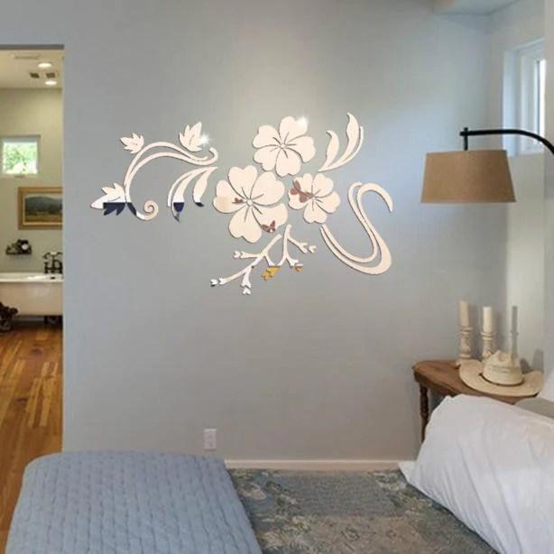 3D Mirror Vinyl Removable Wall Sticker Decal Home Decor Art