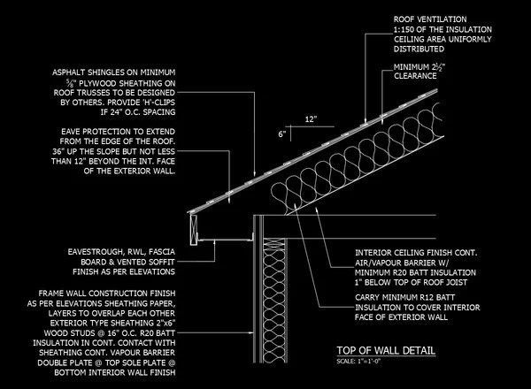 Diagram Of A Hospital ★free Cad Details Top Of Wall Detail 2