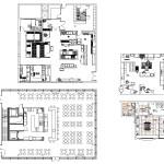 Architecture Cad Projects Restaurant Design Cad Blocks Plans Layout