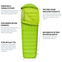 Sea to Summit Ascent and Altitude Sleeping Bags - His and Hers Ultralight Down Bags 1
