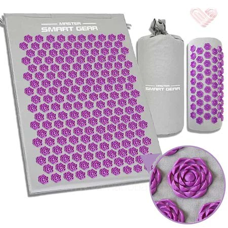 tapis lotus de massage acupression
