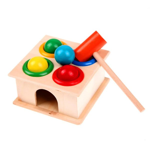 Educational Wooden Hammering Ball Set Essentials For Mom