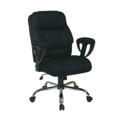 Big Mans Chair Quirky Bedroom Office Star Work Smart Ex1098 3m Executive With Mesh Se Description