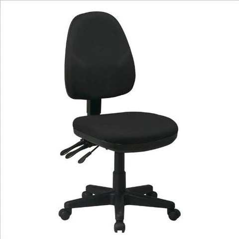 ergonomic chair description hanging clear work smart 36420 231 dual function with adjustable bac