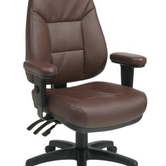 Office Star Chairs Fishing Chair Bag Products Furniture And Work Smart Ec4300 Ec4 Professional Dual Function Ergonomic High Back Leather With