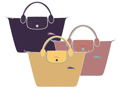 longchamp le pliage new collection