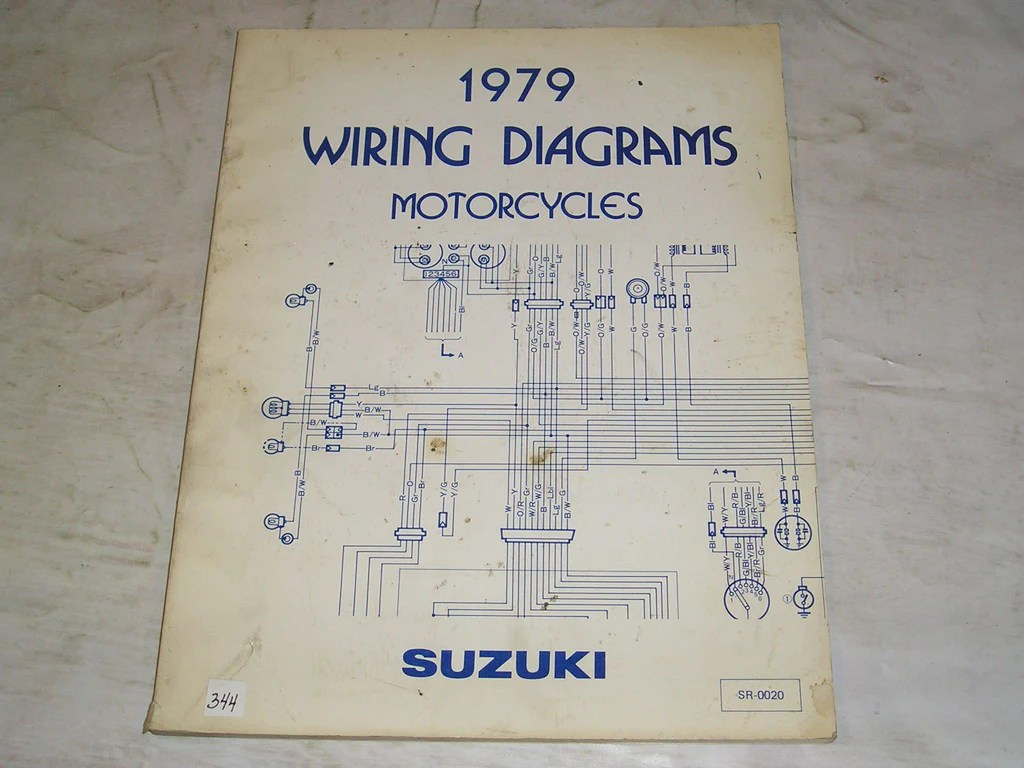 suzuki a50 a80 a100 ac b120 ds dr fr fz gp 1979 wiring diagrams manual  [ 1024 x 768 Pixel ]