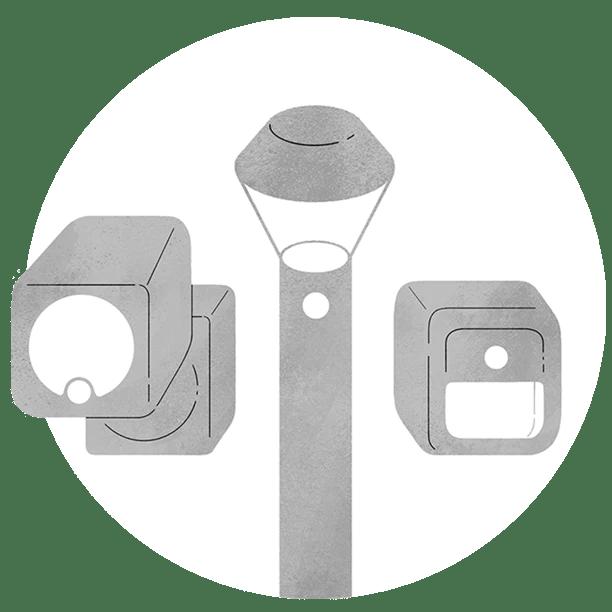 smart lighting outdoor yard