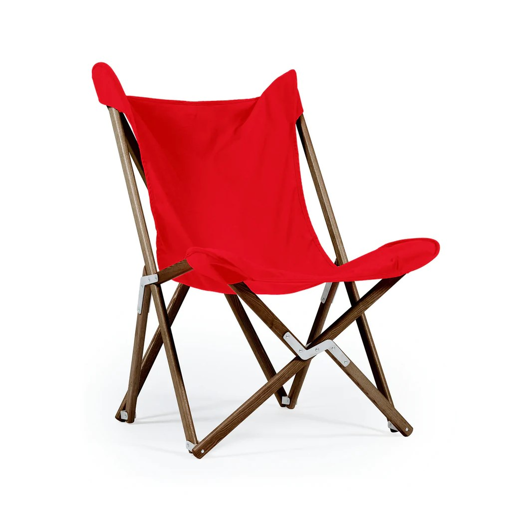 Butterfly Folding Chair Telami Tripolina Primary Red Telami It