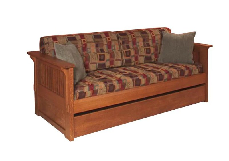 Crofters Day Bed Hardwood Artisans Handcrafted Living Furniture