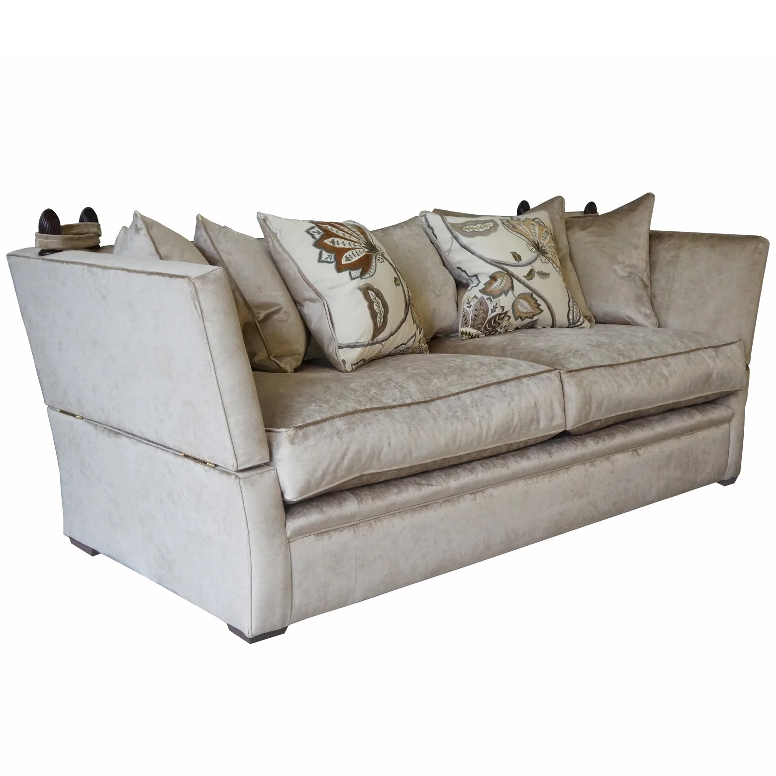 Greenwich Sofa And Chairs In Cascada Velvet Half Price To Order Settle Home