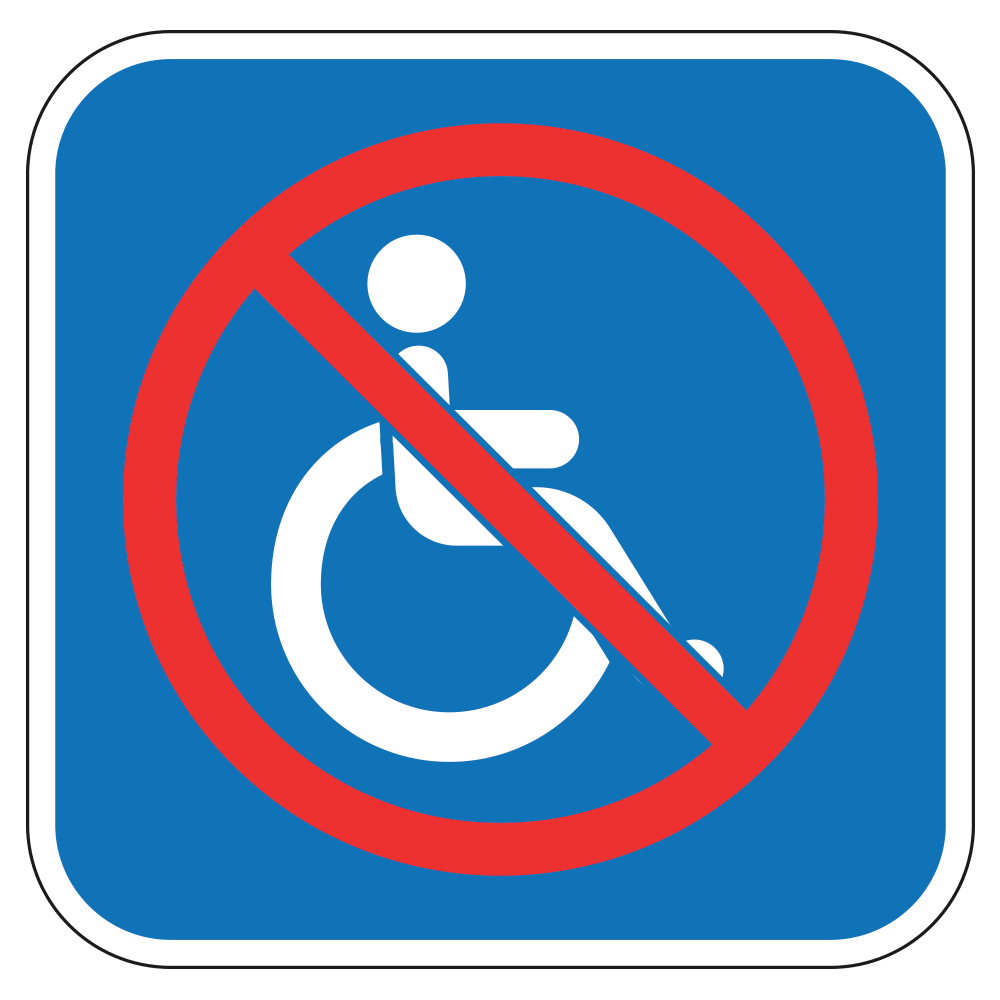 products tagged handicap operationalsignage