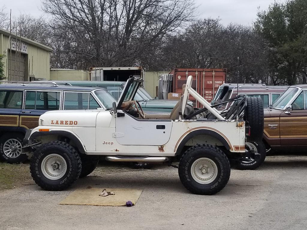 1982 jeep cj 7 laredo 4x4 wh 1957 sold [ 1024 x 768 Pixel ]