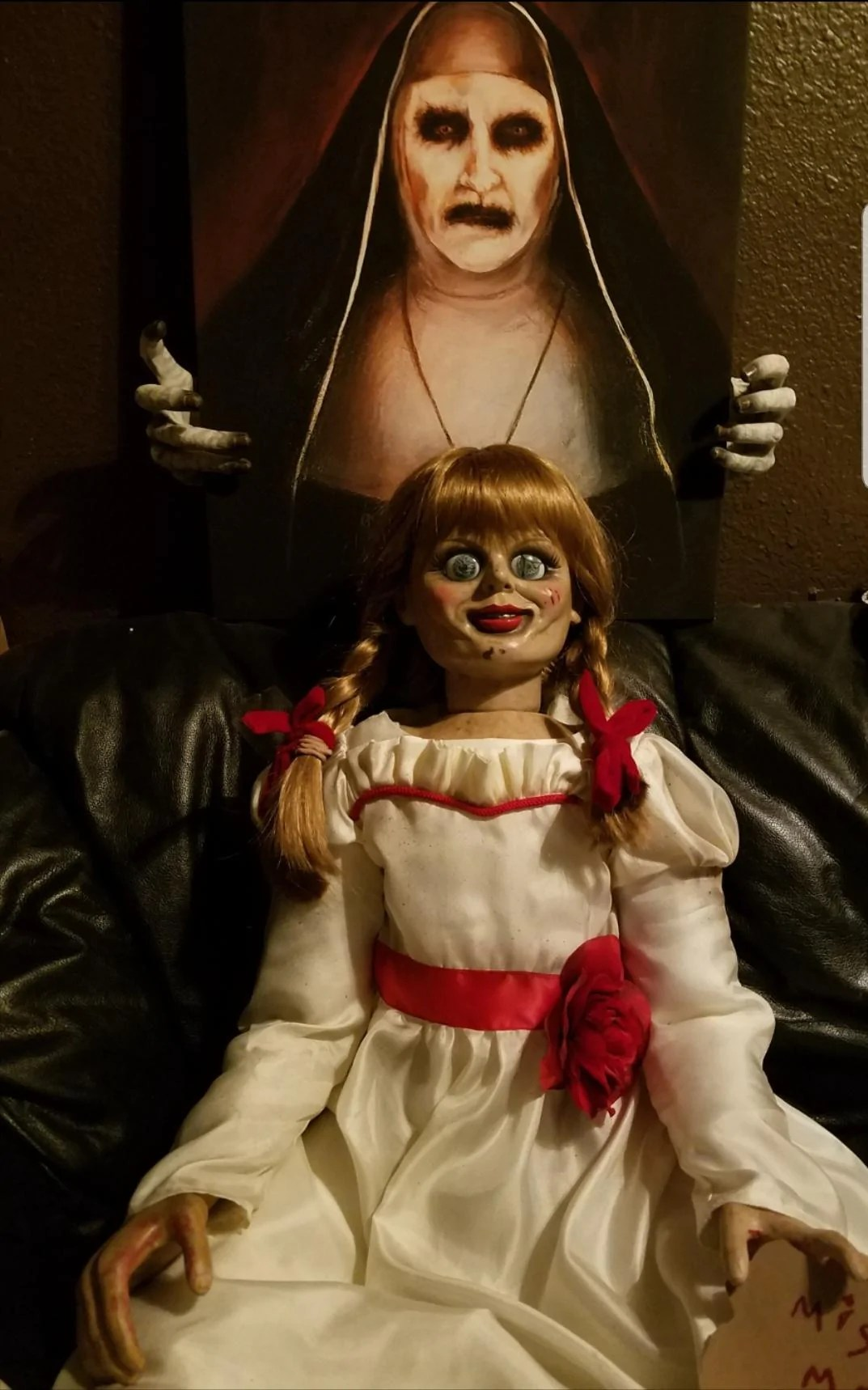 animatronic annabelle doll the