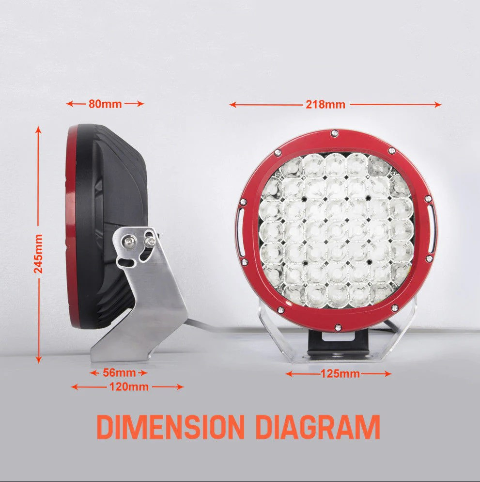 small resolution of  9 cree led spotlights 2 x 4 led light bars reverse lights