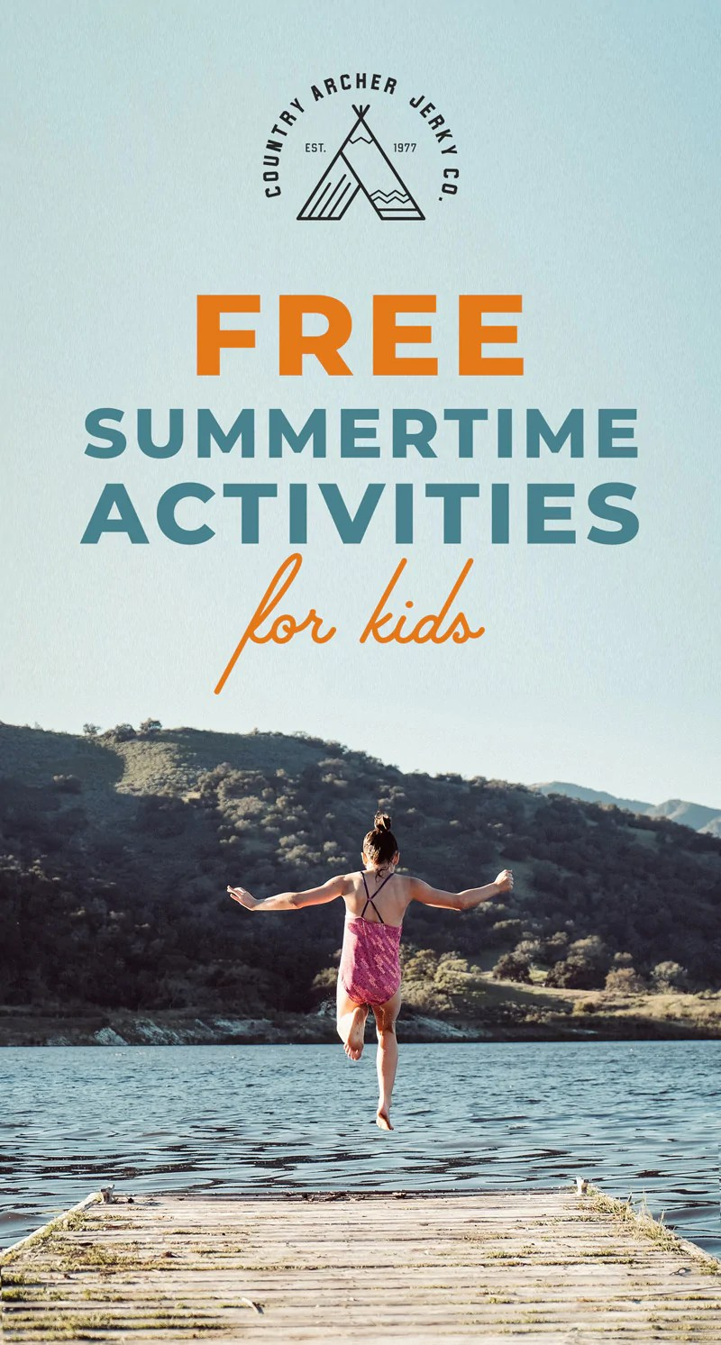 Free Summertime Activities Kids Country Archer