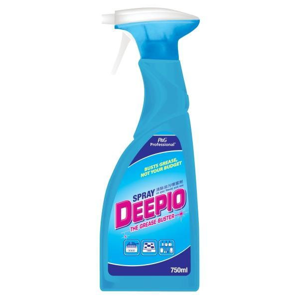 kitchen degreaser cheap faucets deepio professional spray 750ml