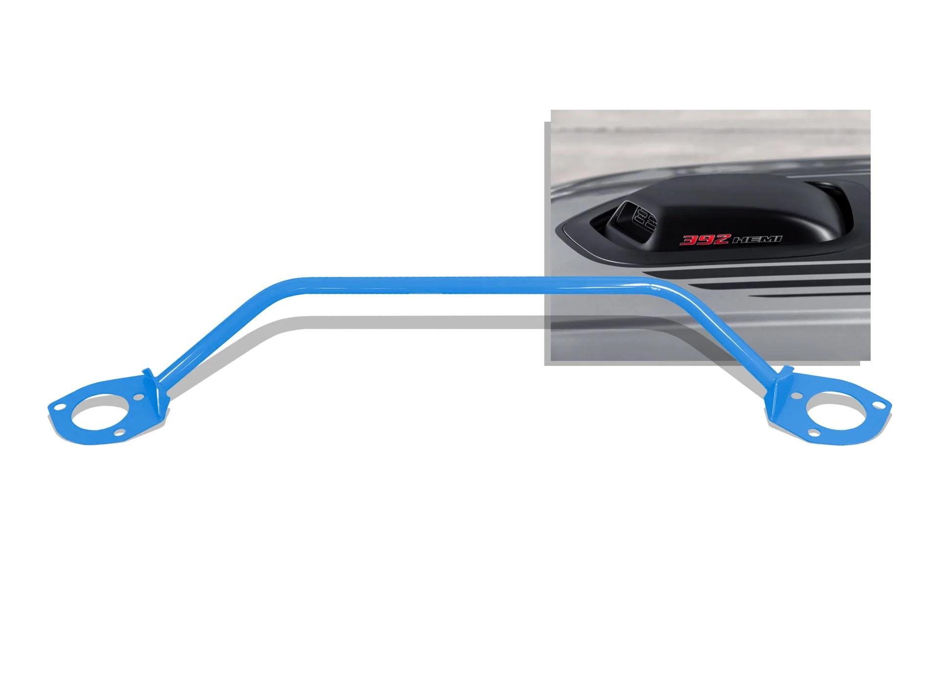 medium resolution of dodge challenger strut tower brace