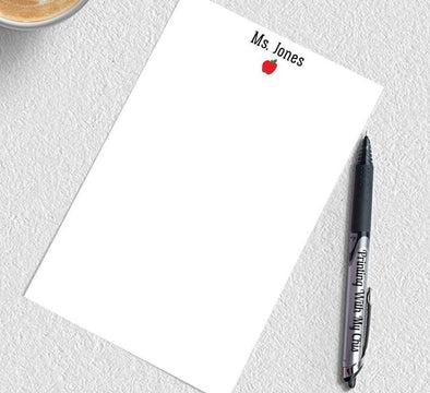 teacher gift teacher notepad