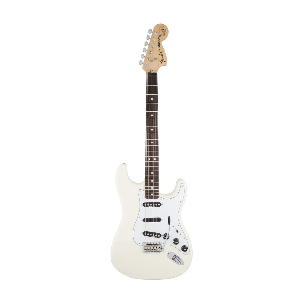 hight resolution of fender artist ritchie blackmore stratocaster guitar scalloped rw neck olympic white