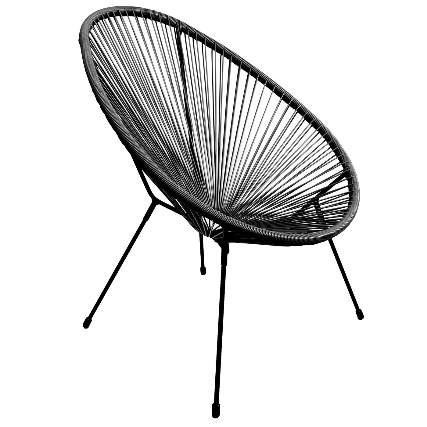 Rattan Egg Chair Set Rattan Egg Chair Black