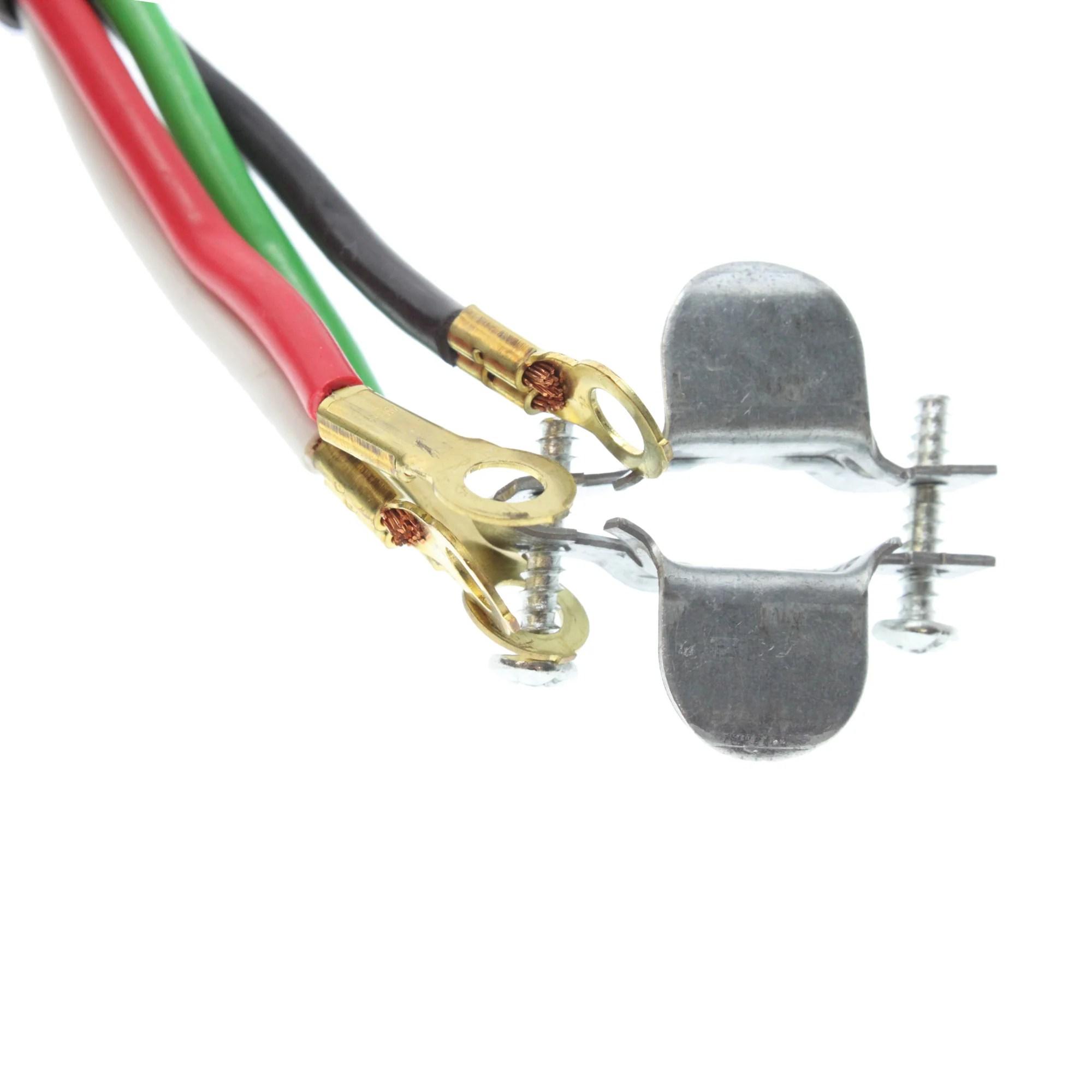 american insulated wire a5434006bl dryer cord w plug 30a nema 14 30p 6 feet [ 2000 x 2000 Pixel ]