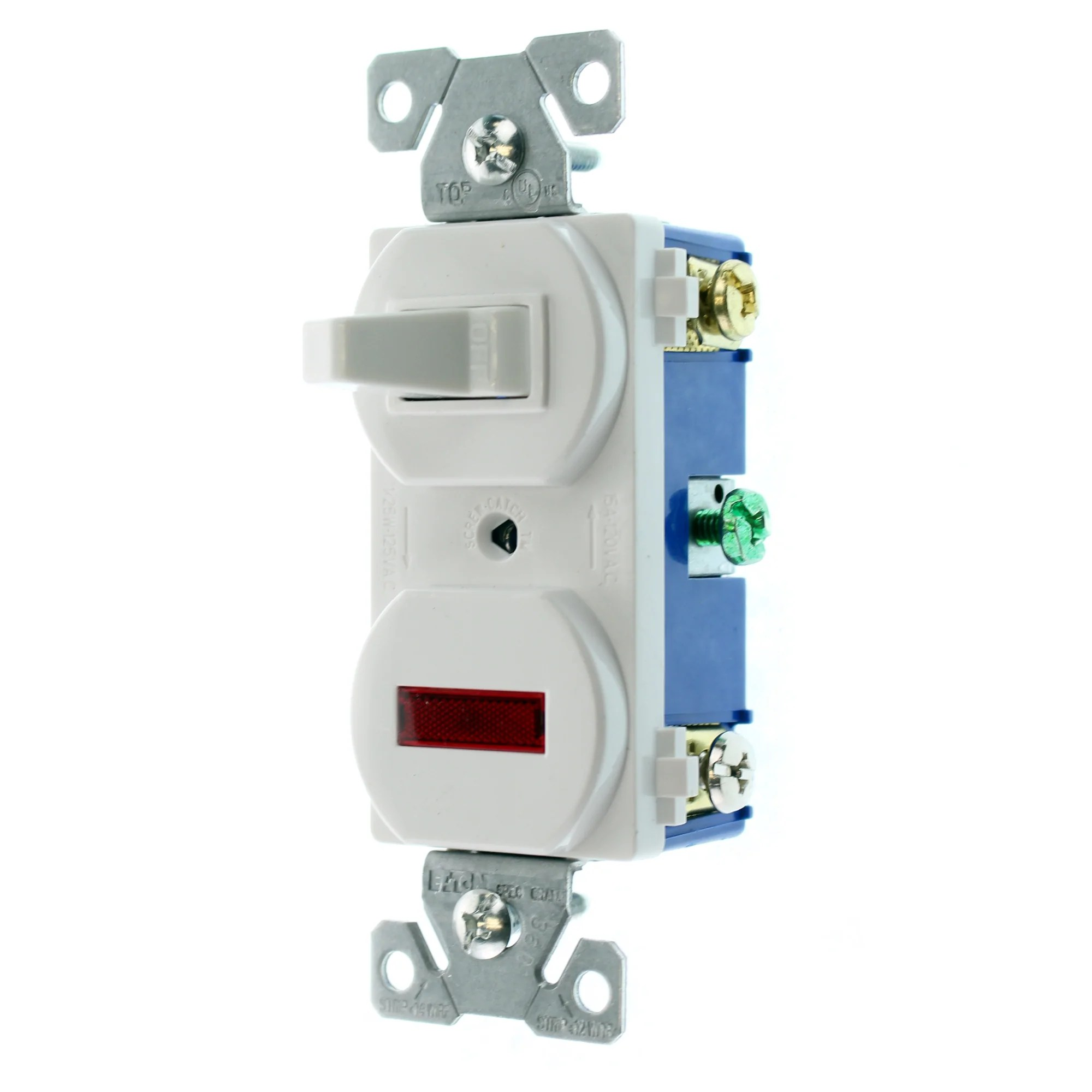 medium resolution of eaton cooper 277w sp l toggle switch w pilot light 1 pole 15a how to wire cooper 277 pilot light switch share the knownledge