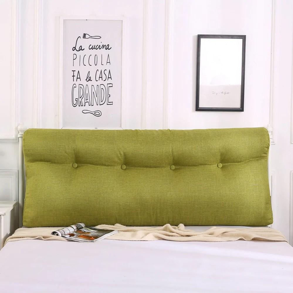 headboard cushion triangular cushion