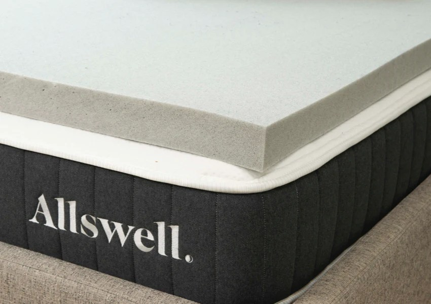 3 memory foam mattress topper infused with graphite