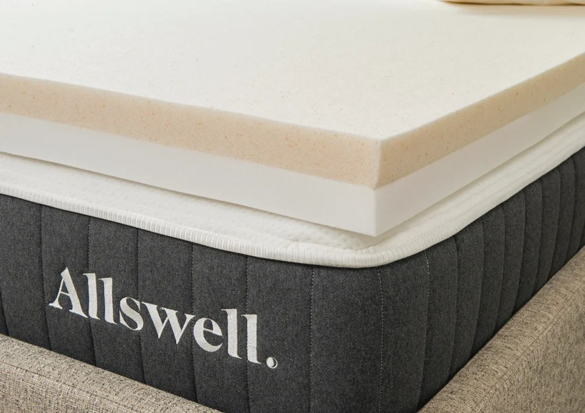 4 memory foam mattress topper infused with copper gel