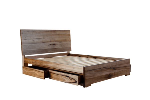 Iris Deluxe Bed Frame with 4 drawers  Snooze