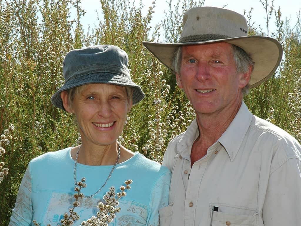 John & Peta Day - The Paperbark Co - Lewin & Reilly organic Skin Care NZ Australia