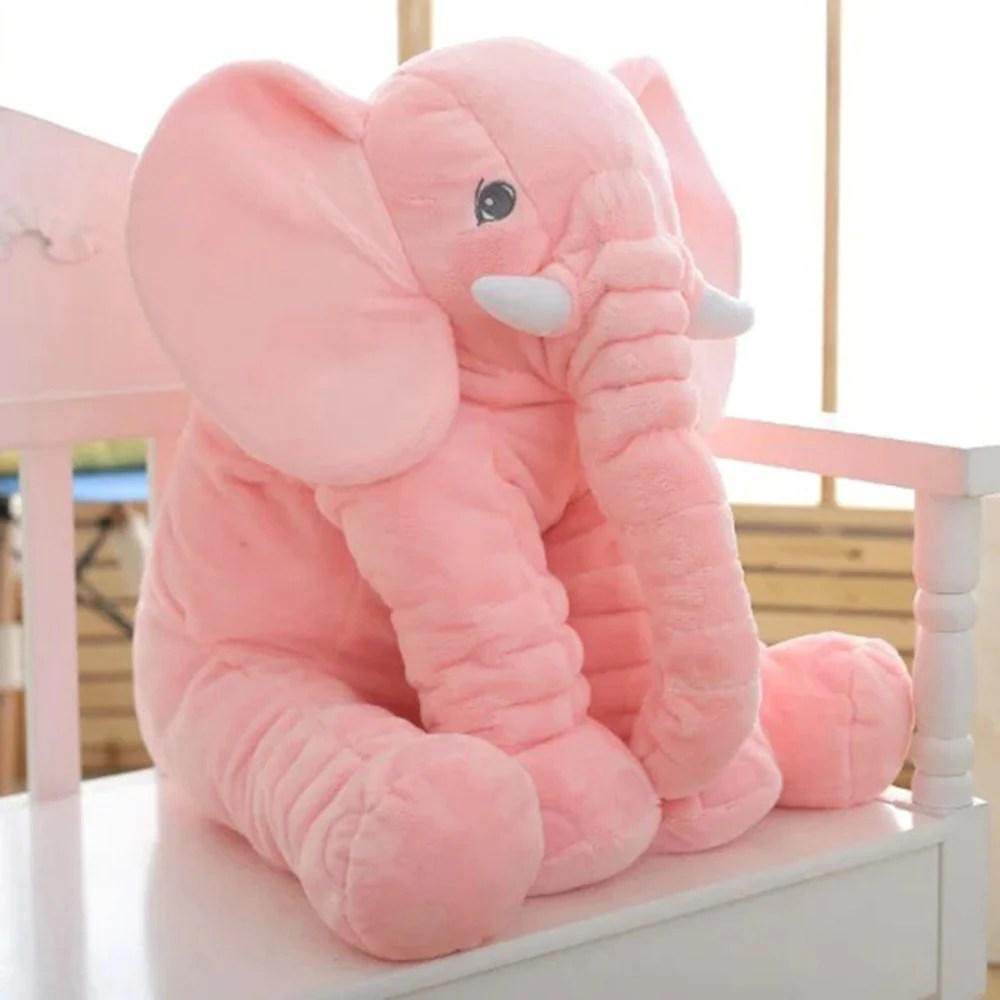 large elephant plush toy pillow elephant baby doll for kids