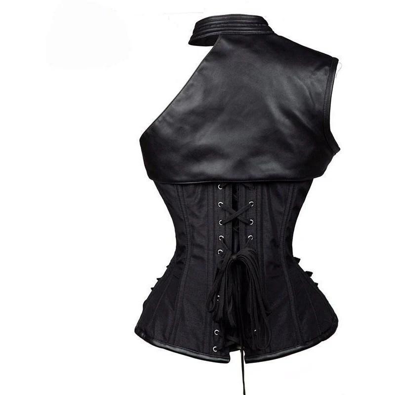 vintage gothic black armor