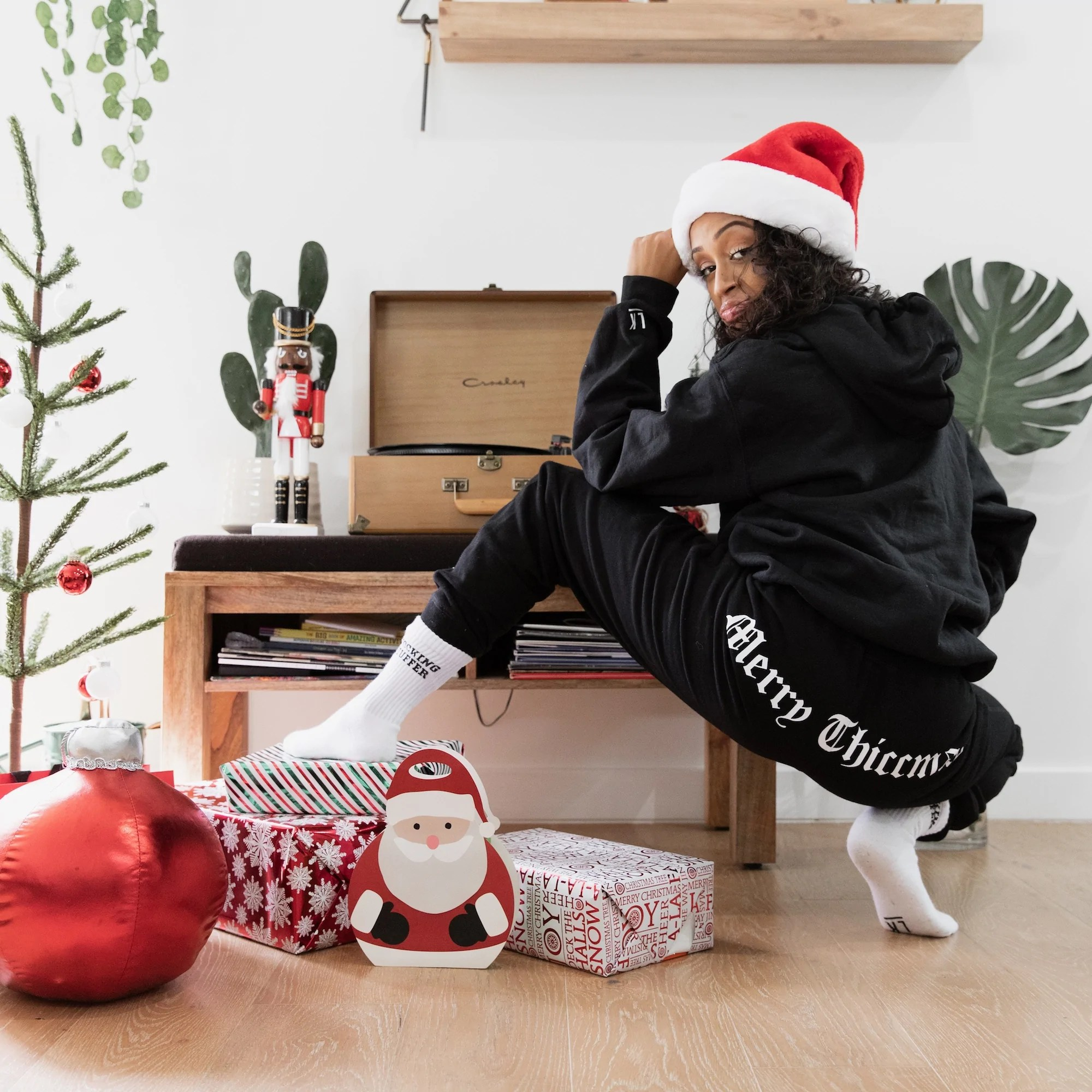 merry thiccmas pants