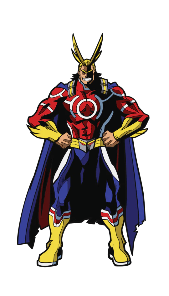 All Might My Hero Academia : might, academia, FiGPiN, Academia, Might, (Silver, 856481008567