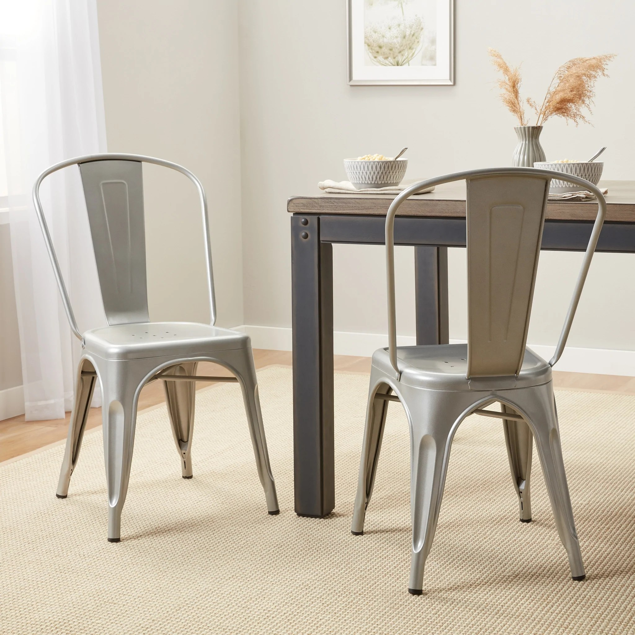 Bistro Steel Dining Chairs