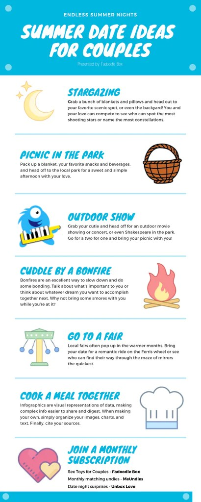 Summer Date Ideas Infographic