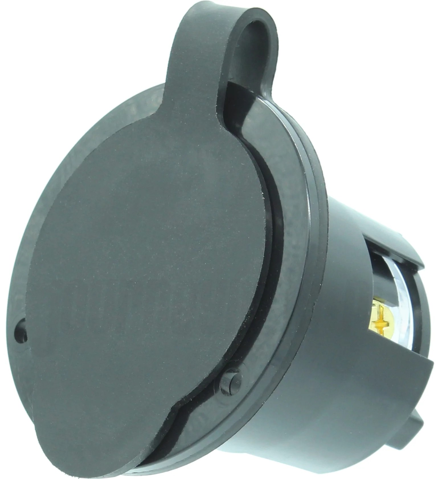 nema l14 30 flanged inlet plug 30a 250v locking receptacle socket black hjp  [ 1531 x 1683 Pixel ]