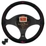 Buy R M Williams Steering Wheel Cover 15 Black Pink The Stable Door