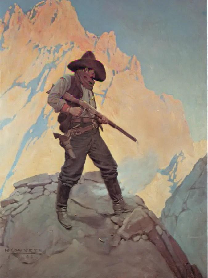 N. C. Wyeth : wyeth, Stand, Wyeth, Print,, Canvas, Framed, Print., Truly