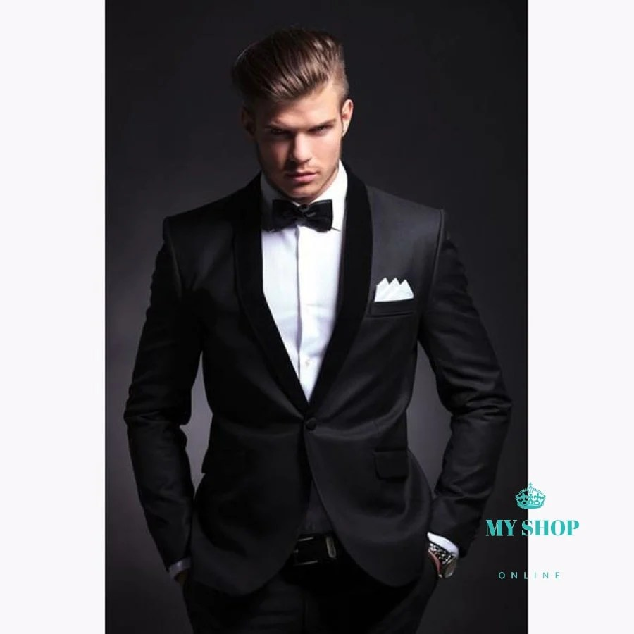 Men Suit Wedding Party Prom Smoking Mens Casual Work Wear Suits Jacke