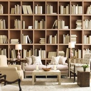 library bookcase mural sofa living shelves papel study biblioteca libreria sfondo letto bookshelves camera tapete bedroom divano wohnzimmer bucherregal murale