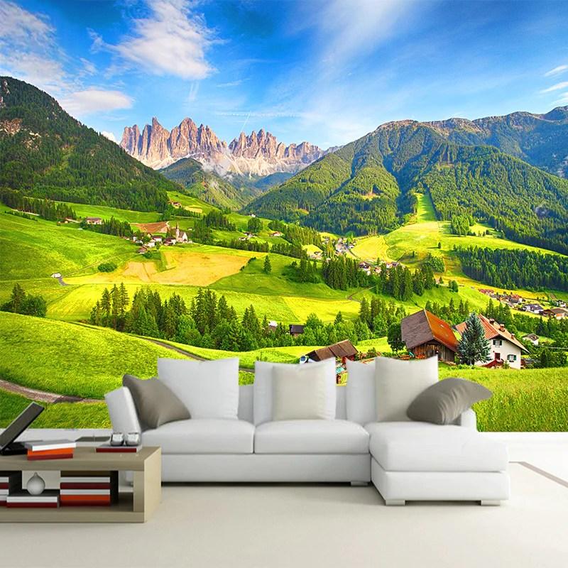 custom wallpaper mural nature
