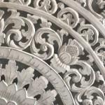 Balinese Carved Wooden Bedhead Or Wall Panel Super King Katamama